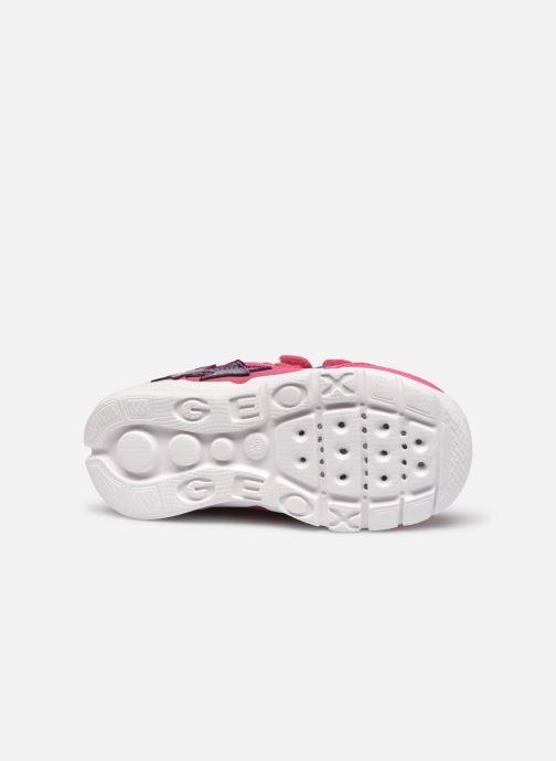 Sneakers Geox B Runner Girl/B02H8C Rosa immagine dall'alto