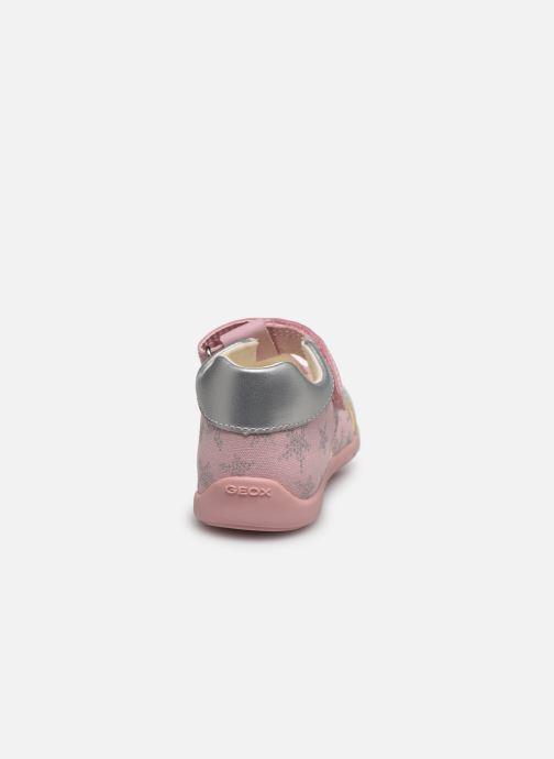 Sandales et nu-pieds Geox B Elthan Girl/B021QA Rose vue droite