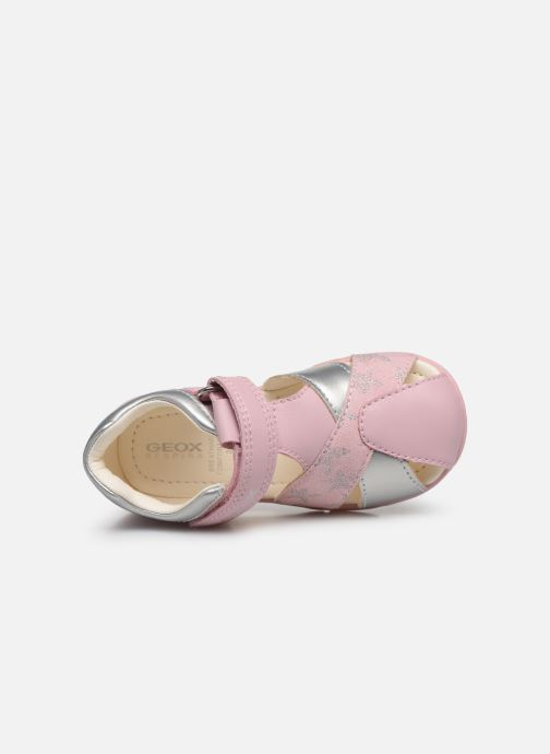 Sandales et nu-pieds Geox B Elthan Girl/B021QA Rose vue gauche