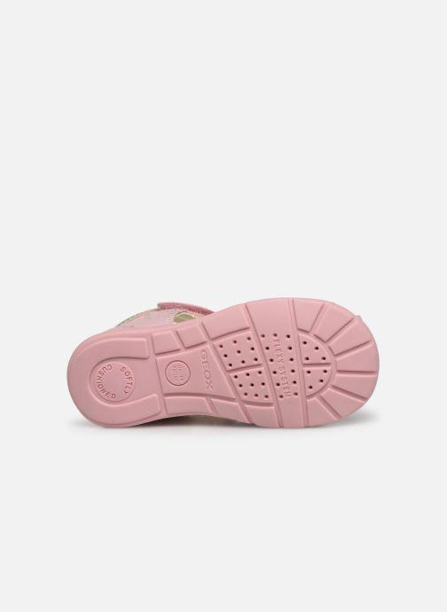 Sandales et nu-pieds Geox B Elthan Girl/B021QA Rose vue haut
