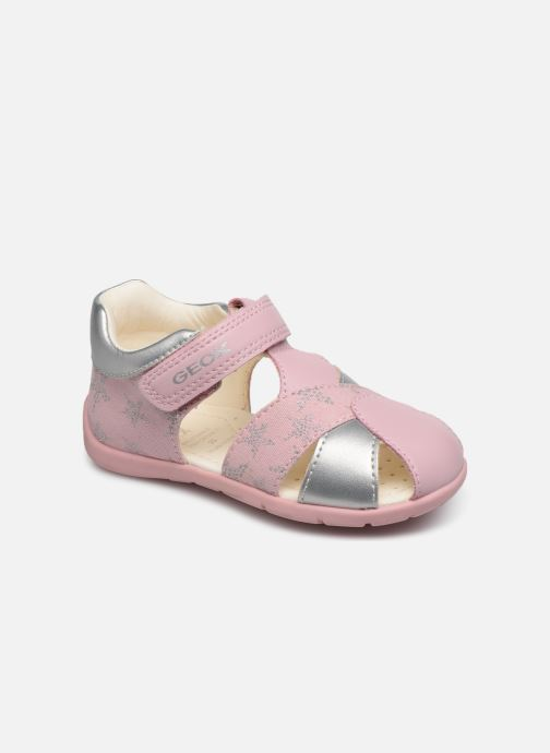 Sandales et nu-pieds Geox B Elthan Girl/B021QA Rose vue détail/paire