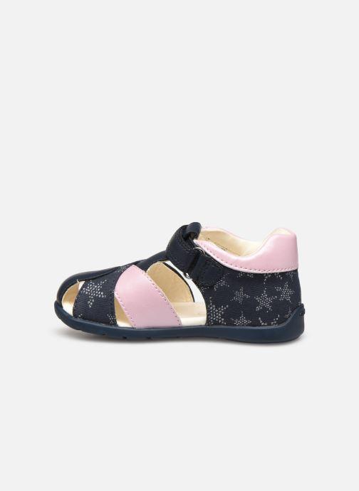 Sandali e scarpe aperte Geox B Elthan Girl/B021QA Azzurro immagine frontale