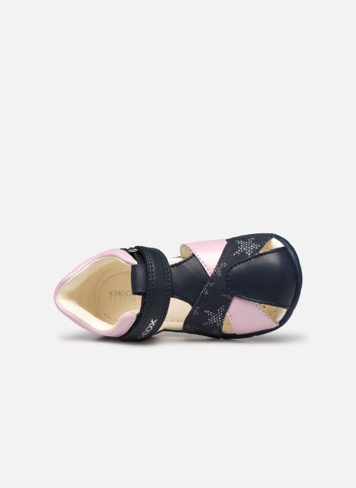 Sandali e scarpe aperte Geox B Elthan Girl/B021QA Azzurro immagine sinistra