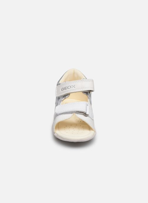Sandals Geox B Sandal Nicely/B0238A White model view