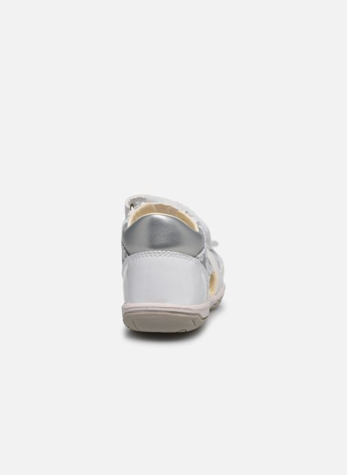 Sandals Geox B Sandal Nicely/B0238A White view from the right