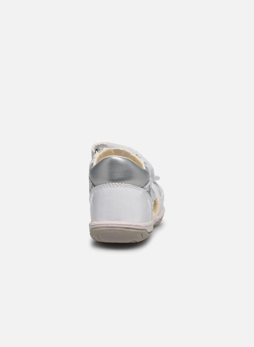 Sandalen Geox B Sandal Nicely/B0238A weiß ansicht von rechts