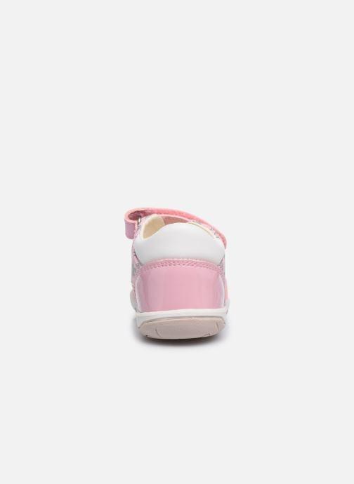 Sandales et nu-pieds Geox B Sandal Nicely/B0238A Rose vue droite