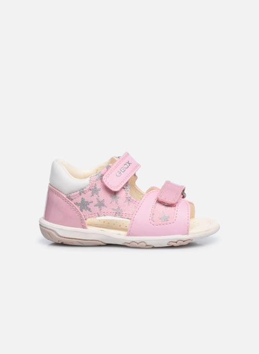 Sandales et nu-pieds Geox B Sandal Nicely/B0238A Rose vue derrière