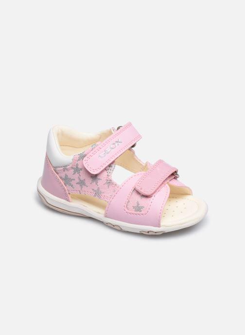 Sandales et nu-pieds Geox B Sandal Nicely/B0238A Rose vue détail/paire