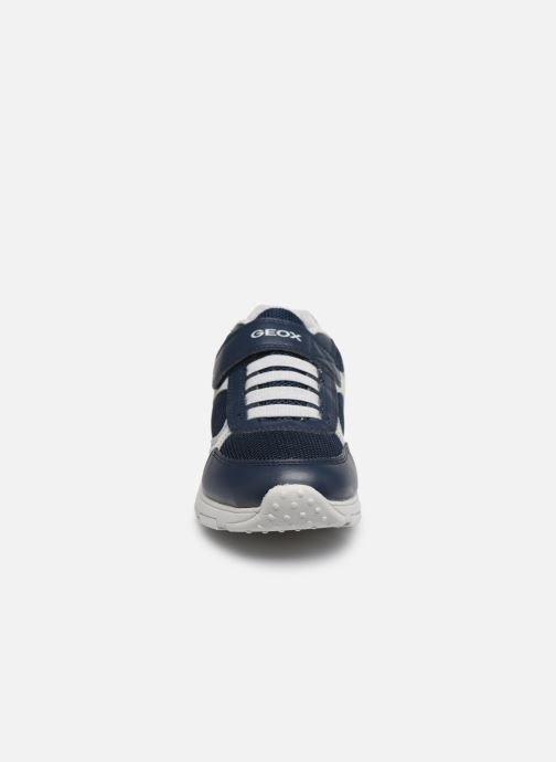 Sneakers Geox J New Torque Boy/J027NA Azzurro modello indossato