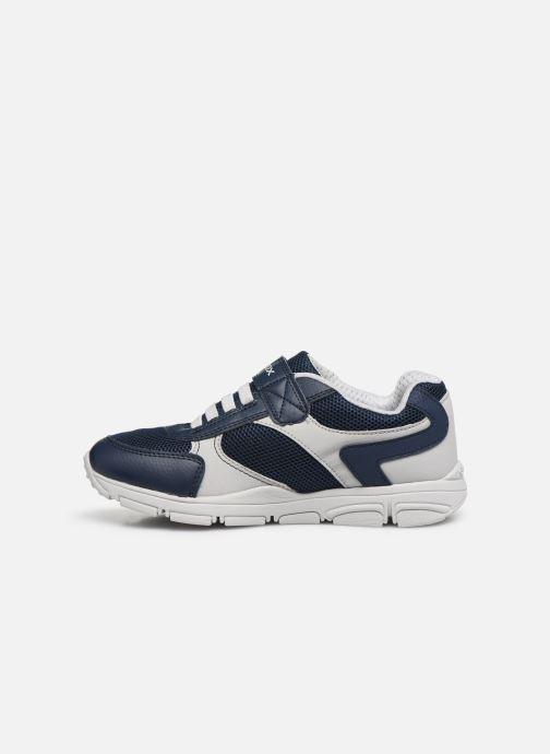 Sneakers Geox J New Torque Boy/J027NA Azzurro immagine frontale