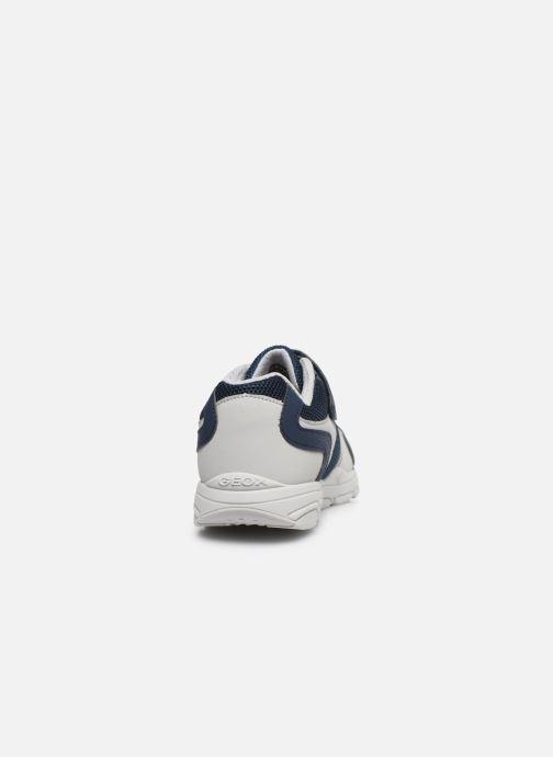 Sneakers Geox J New Torque Boy/J027NA Azzurro immagine destra