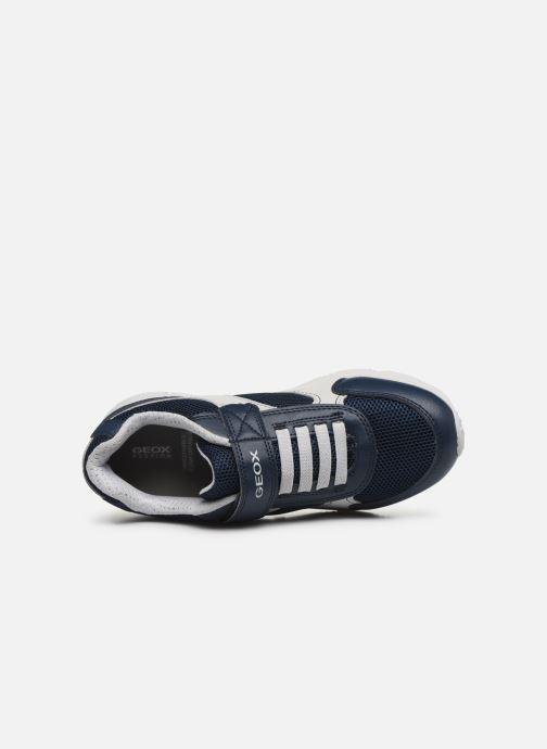 Sneakers Geox J New Torque Boy/J027NA Azzurro immagine sinistra