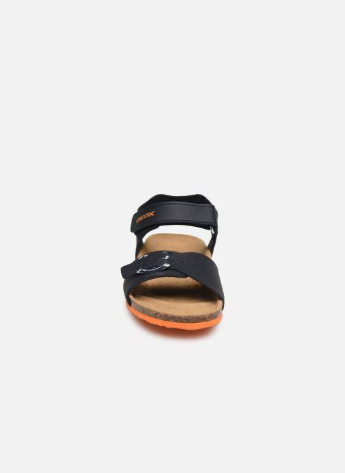 Sandaler Geox J Ghita Boy/J028LB Blå bild av skorna på
