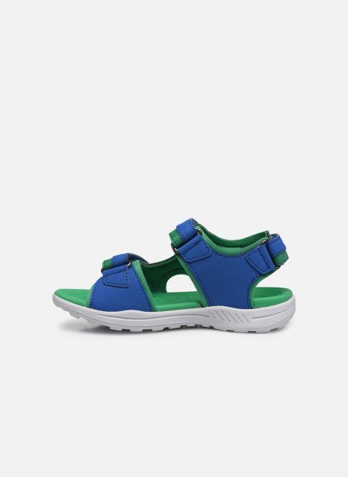 Sandalen Geox J Vaniett Boy/J025XA blau ansicht von vorne