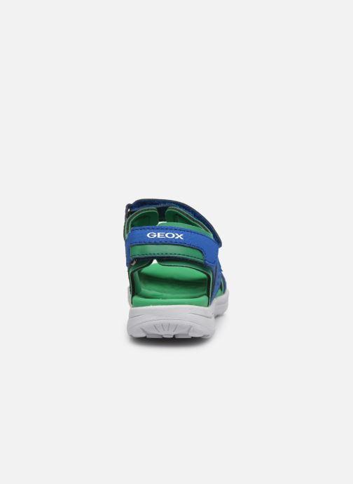 Sandales et nu-pieds Geox J Vaniett Boy/J025XA Bleu vue droite