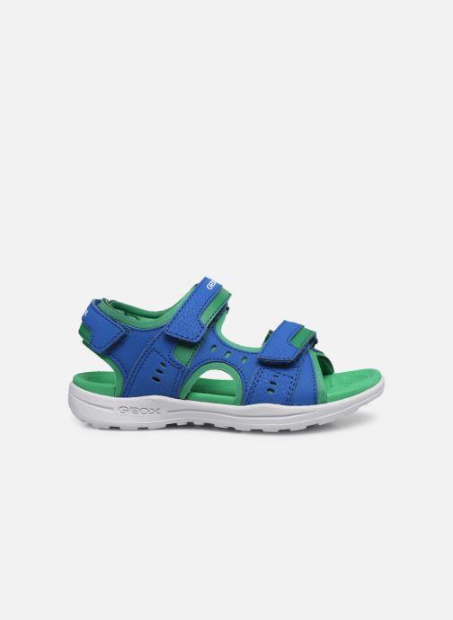 Sandalen Geox J Vaniett Boy/J025XA blau ansicht von hinten