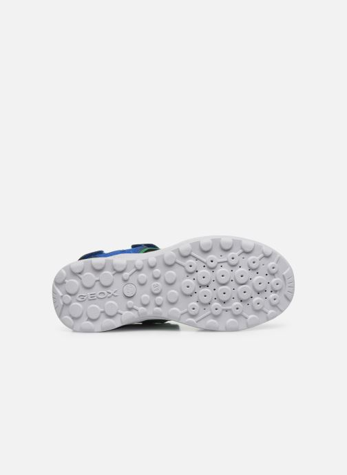 Sandales et nu-pieds Geox J Vaniett Boy/J025XA Bleu vue haut