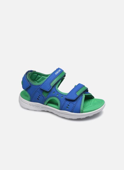 Sandales et nu-pieds Geox J Vaniett Boy/J025XA Bleu vue détail/paire