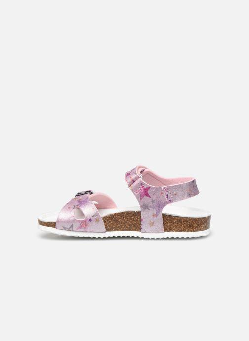 Sandales et nu-pieds Geox J Adriel Girl/J028MC Rose vue face