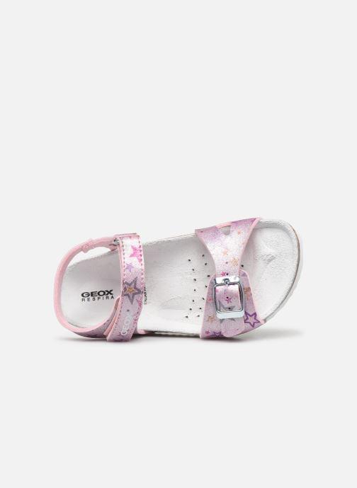 Sandales et nu-pieds Geox J Adriel Girl/J028MC Rose vue gauche