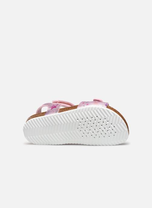Sandales et nu-pieds Geox J Adriel Girl/J028MC Rose vue haut