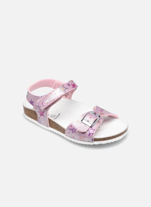 Sandales et nu-pieds Geox J Adriel Girl/J028MC Rose vue détail/paire