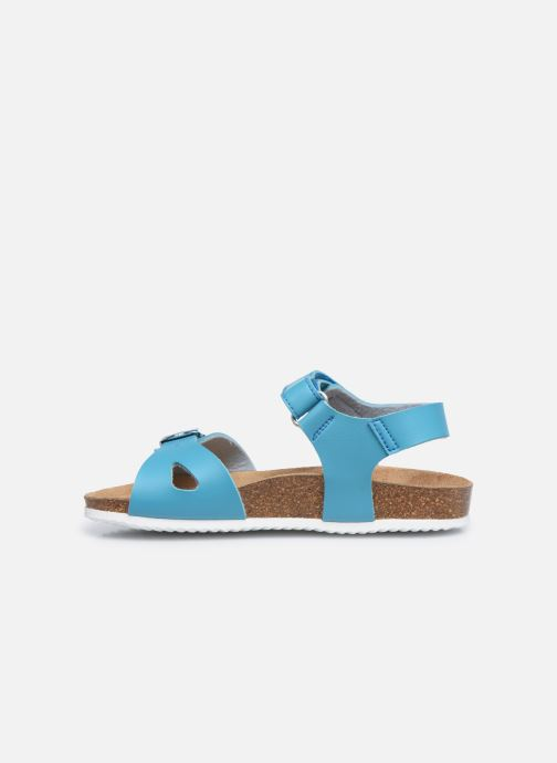 Sandalen Geox J Adriel Girl/J028MC blau ansicht von vorne