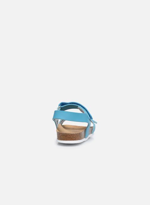 Sandalen Geox J Adriel Girl/J028MC blau ansicht von rechts