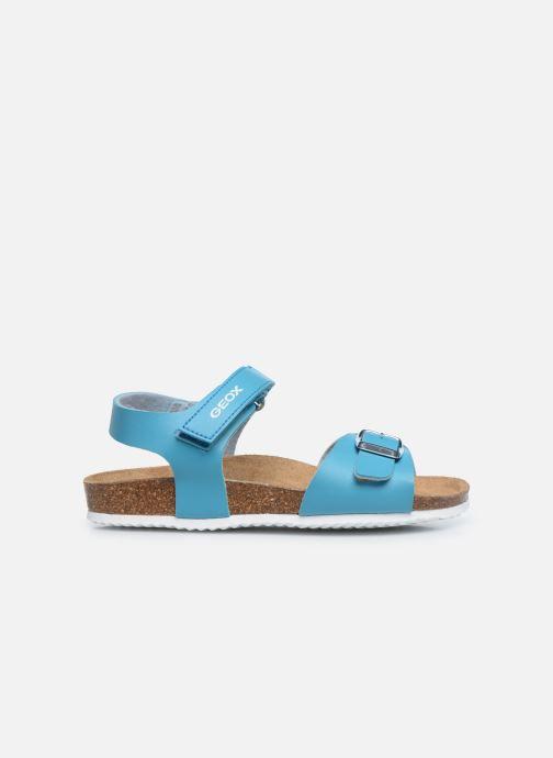 Sandalen Geox J Adriel Girl/J028MC blau ansicht von hinten