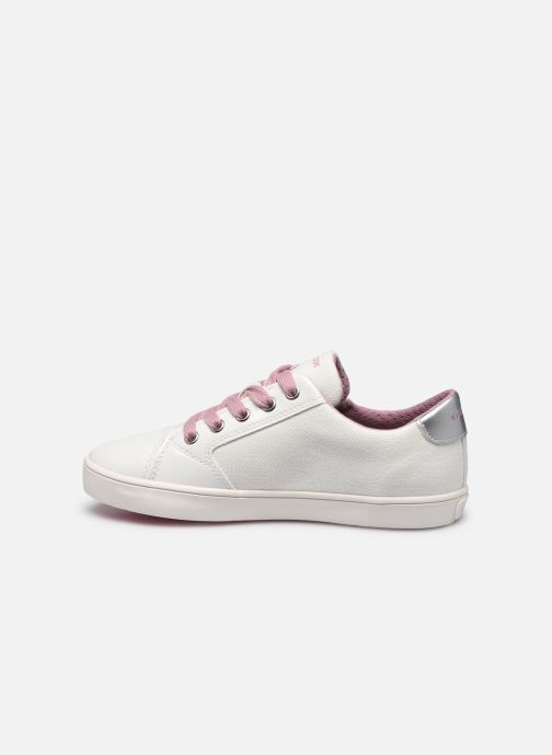 Sneakers Geox J Gisli Girl/J024NB Bianco immagine frontale