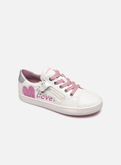 Sneakers Geox J Gisli Girl/J024NB Bianco vedi dettaglio/paio