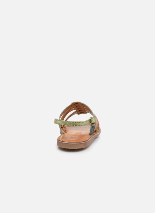 Sandales et nu-pieds Geox J Sandal Eolie Girl/J02BSA Multicolore vue droite