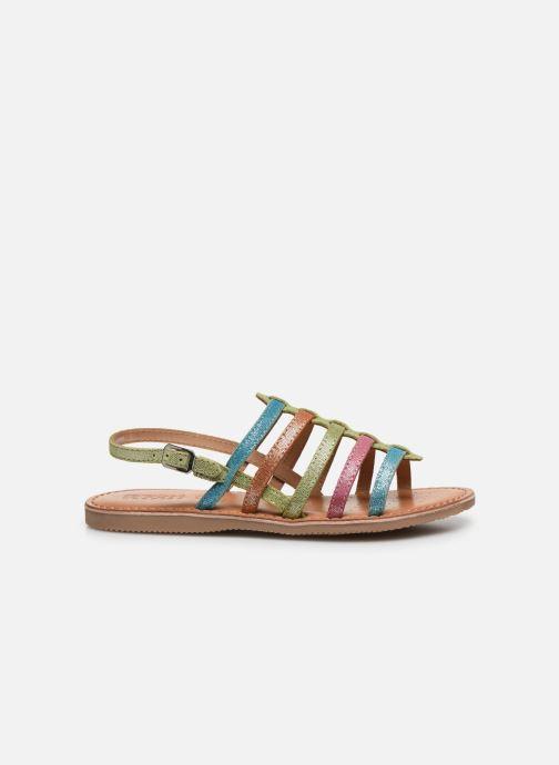 Sandales et nu-pieds Geox J Sandal Eolie Girl/J02BSA Multicolore vue derrière
