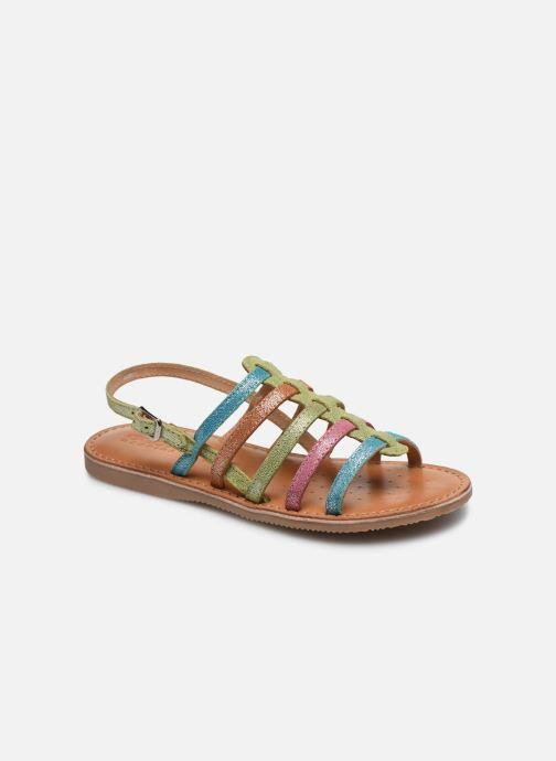 Sandales et nu-pieds Geox J Sandal Eolie Girl/J02BSA Multicolore vue détail/paire