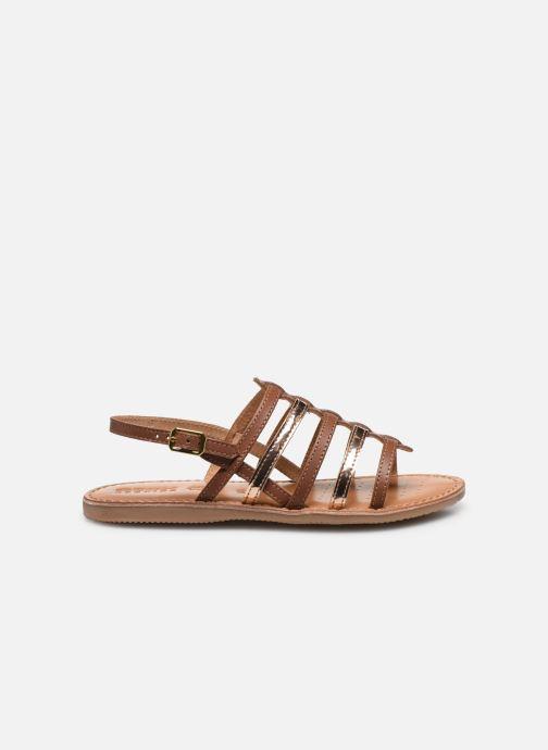 Sandales et nu-pieds Geox J Sandal Eolie Girl/J02BSA Marron vue derrière