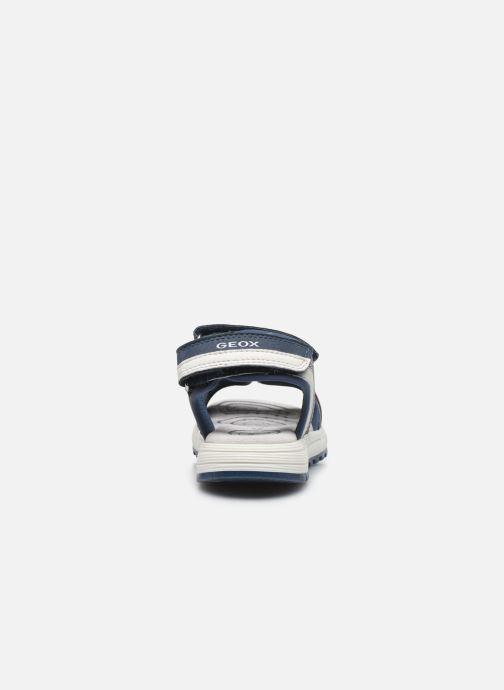 Sandales et nu-pieds Geox J Sandal Alben Boy/J02AVC Bleu vue droite