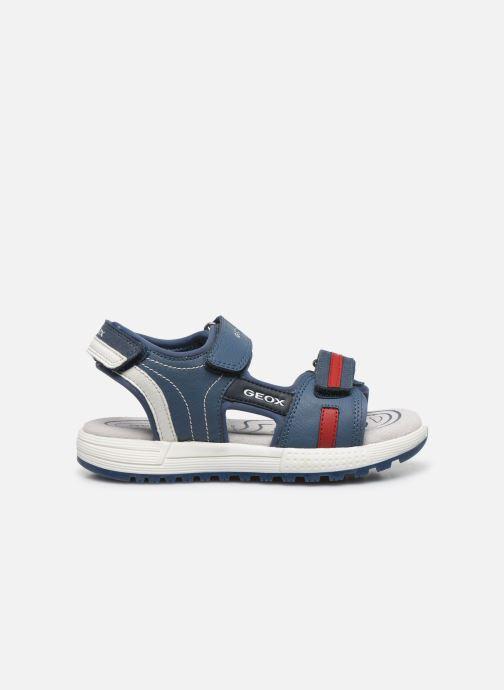 Sandales et nu-pieds Geox J Sandal Alben Boy/J02AVC Bleu vue derrière