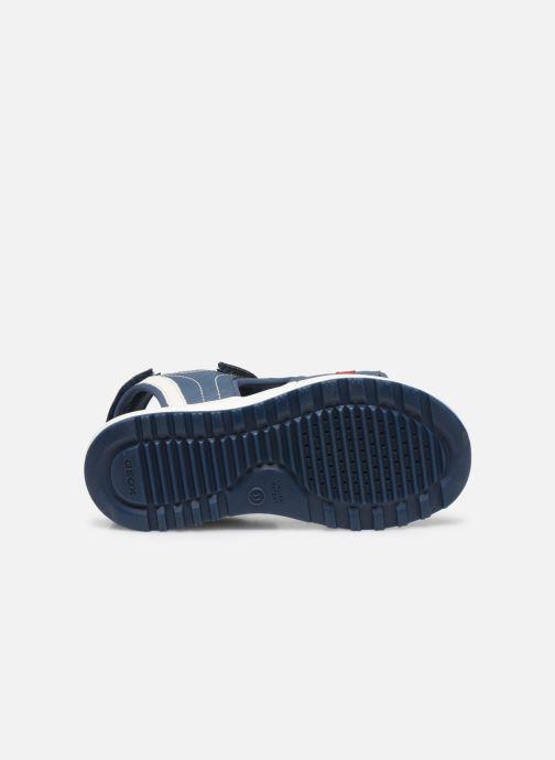 Sandales et nu-pieds Geox J Sandal Alben Boy/J02AVC Bleu vue haut