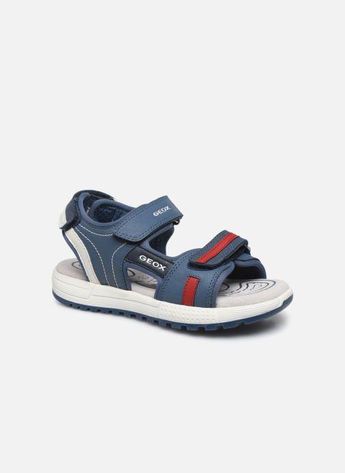 Sandales et nu-pieds Geox J Sandal Alben Boy/J02AVC Bleu vue détail/paire