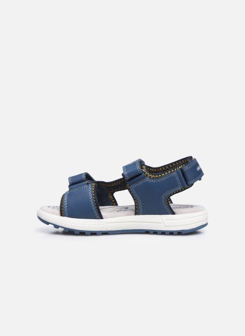 Sandalen Geox J Sandal Alben Boy/J02AVC blau ansicht von vorne