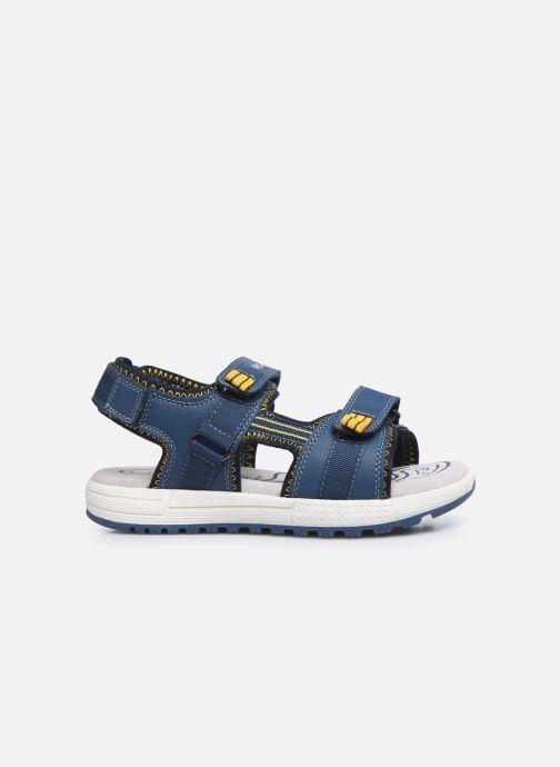 Sandalen Geox J Sandal Alben Boy/J02AVC blau ansicht von hinten