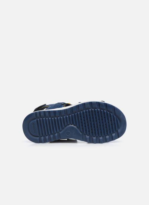 Sandalen Geox J Sandal Alben Boy/J02AVC blau ansicht von oben
