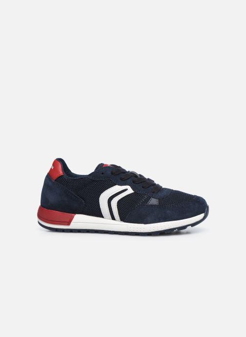Sneaker Geox J Alben Boy/J949ED blau ansicht von hinten