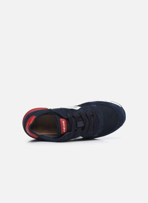 Sneaker Geox J Alben Boy/J949ED blau ansicht von links