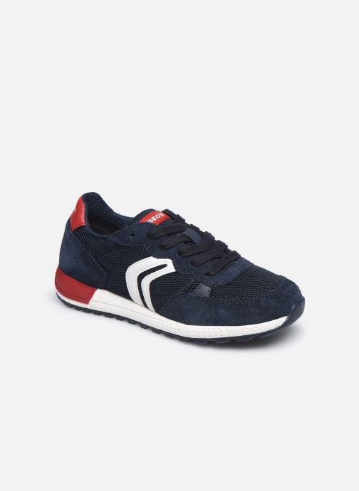 Sneaker Geox J Alben Boy/J949ED blau detaillierte ansicht/modell