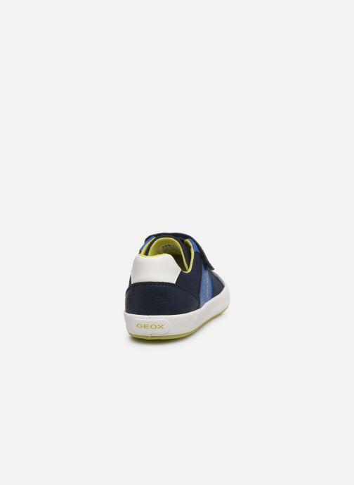 Baskets Geox J Gisli Boy/J025CB Bleu vue droite