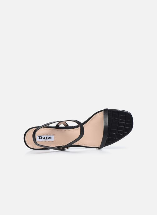 Sandales et nu-pieds Dune London MARTA Noir vue gauche