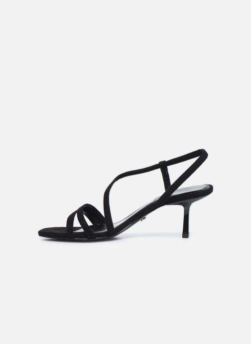 Sandales et nu-pieds Dune London MISO Noir vue face