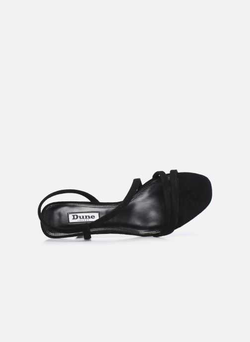 Sandales et nu-pieds Dune London MISO Noir vue gauche